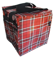 Trunkey Tote - Red Plaid