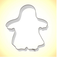 Handmade Cookie Cutters - Trick-or-Treat Ghost