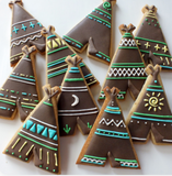 Handmade Cookie Cutters - Teepee