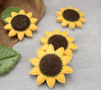 Handmade Cookie Cutters - Sunflower