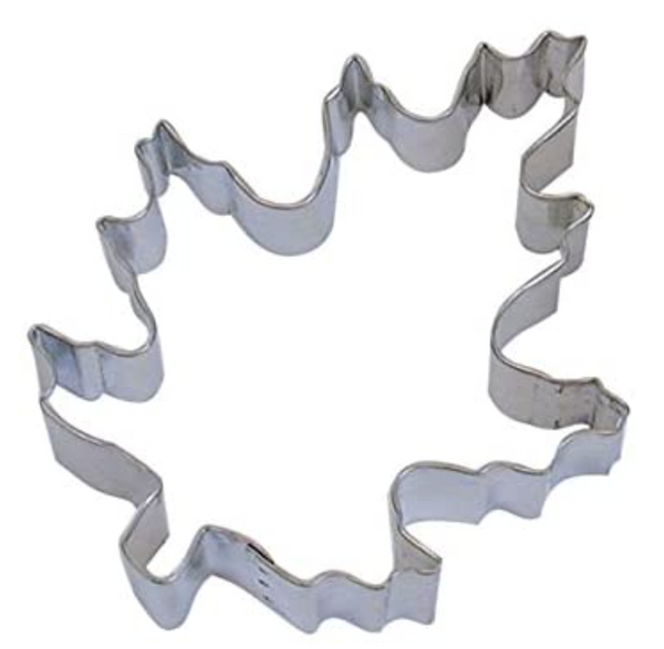 Handmade Cookie Cutters - Oak Leaf