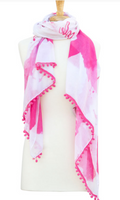 Pink Mantra Scarf – Breast Cancer Awareness Scarf