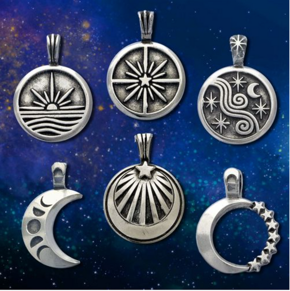 Sun Moon & Stars Pendants