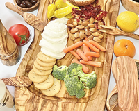 Natural Olivewood Rustic Charcuterie/Cutting Board
