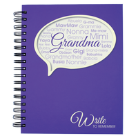 Write to Remember Journal - Grandma