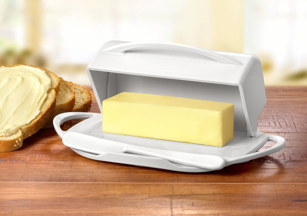Butterie - The Butter Dish, Reinvented -  White