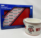 Gift Box Collection - Wisconsin Badger's Serving Set