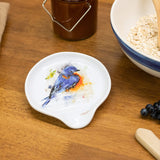 Dean Crouser Bluebird Spoon Rest