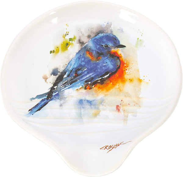 Bluebird Spoon Rest