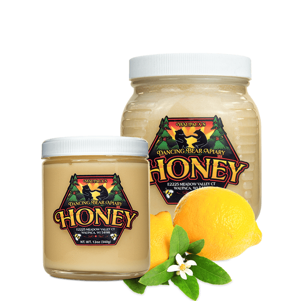 Lemon Artisanal Creme Honey