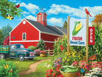 MasterPieces Farmer's Market Jigsaw Puzzle, Country Heaven, 750 Pieces