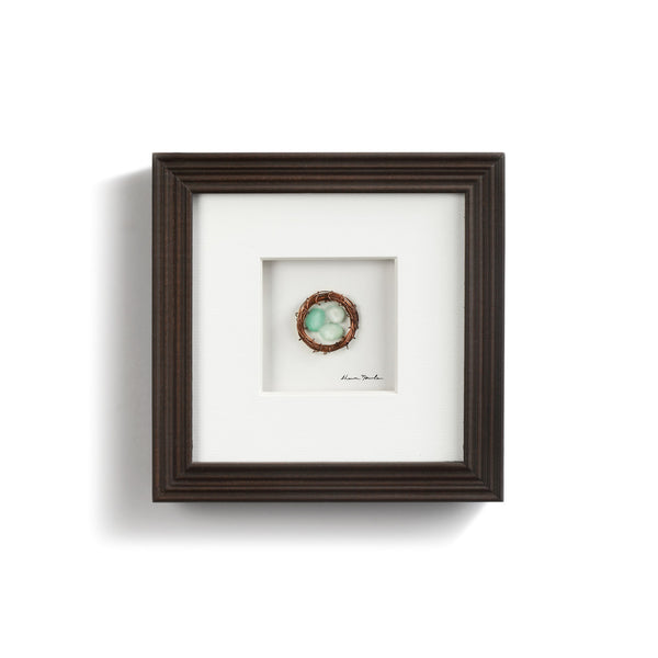 Sharon Nowlan Collection - Three in the Nest Wall Art