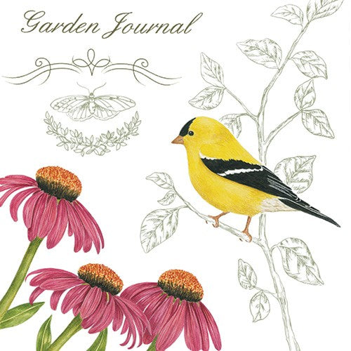 Flour Sack Towel - Garden Journal