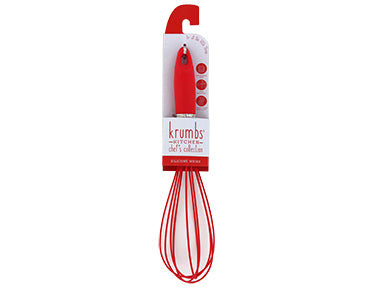 Krumbs Kitchen® Red Silicone Whisk