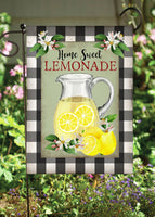 Home Sweet Lemonade Garden Flag