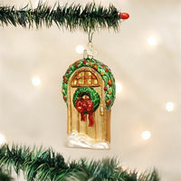 Old World Christmas - Welcome Home Door Ornament