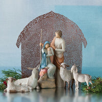 Willow Tree® Sheltering Animals for The Holy Family