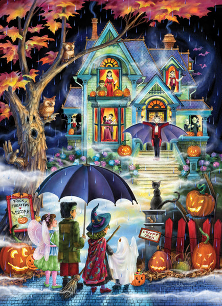 Fright Night 1000 Piece Puzzle