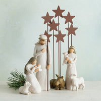 Willow Tree® Metal Star Backdrop