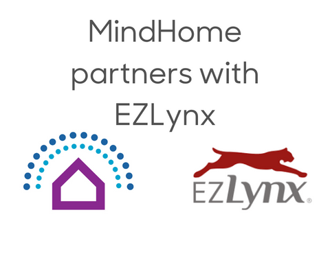 MindHome Partners with EZLynx for Robotic Smart Home services