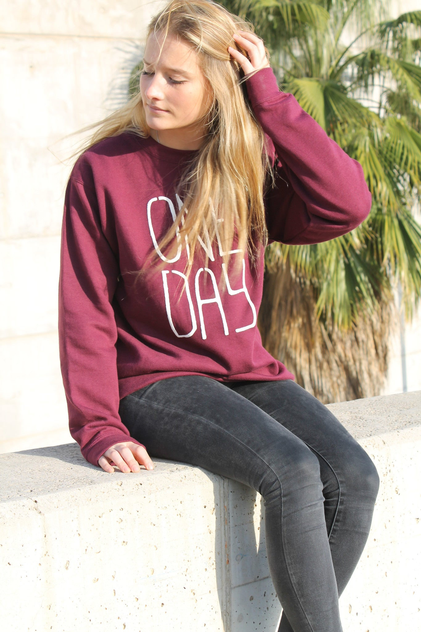 Newport Sweatshirt Deep Red