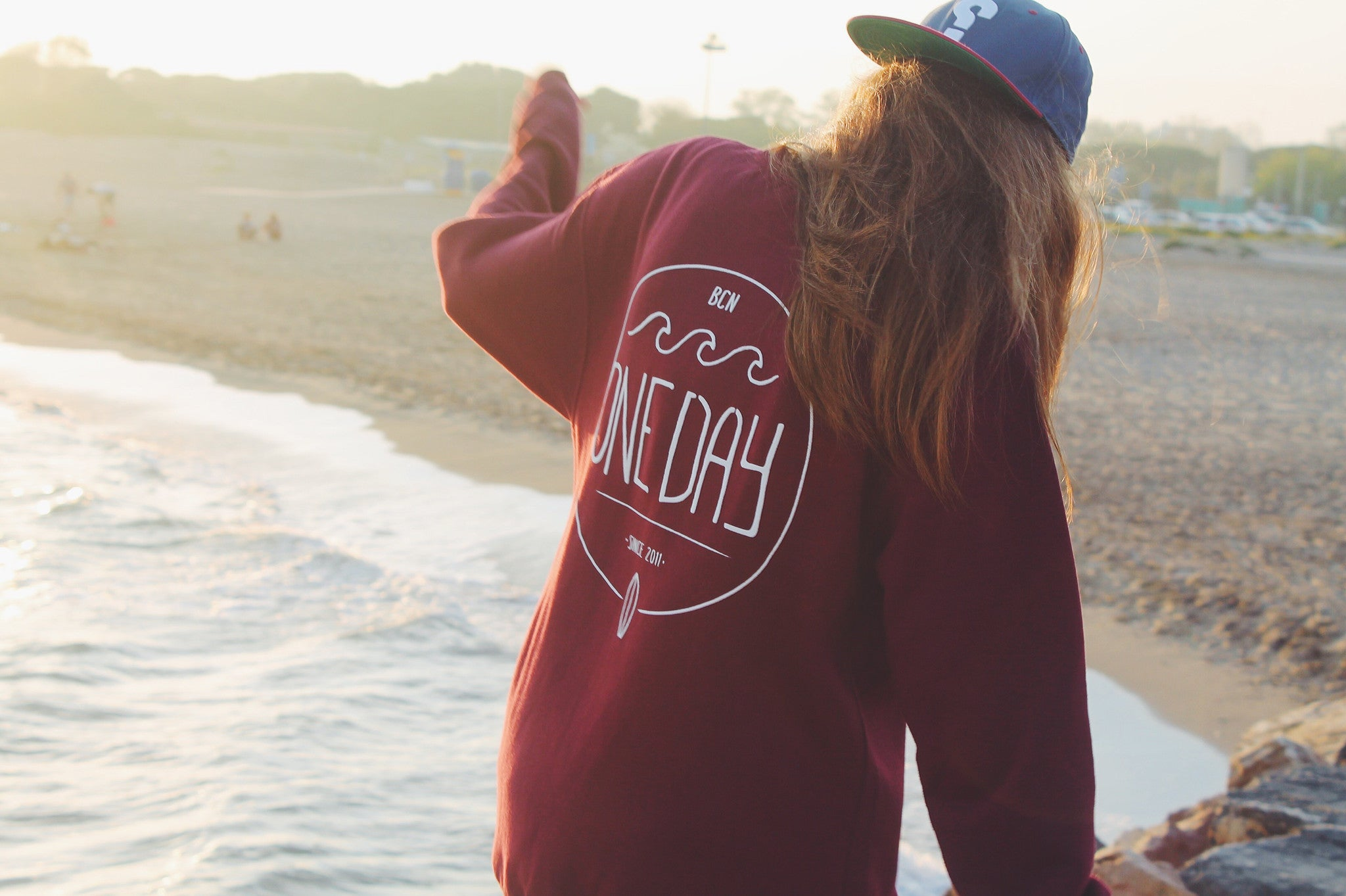 Palo Alto Sweatshirt Red