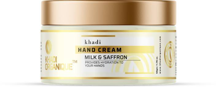 Khadi Organique Saffron (kesar ) Cream Moisturization & Hadration  (50 g) - iZiffy.com
