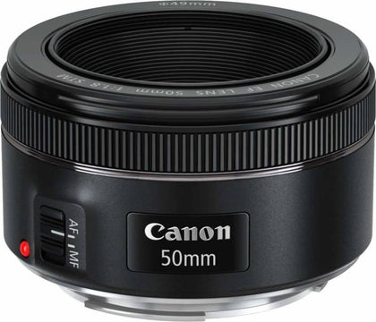 Canon EF 50 mm f/1.8 STM  Lens  (Black, 50) - iZiffy.com