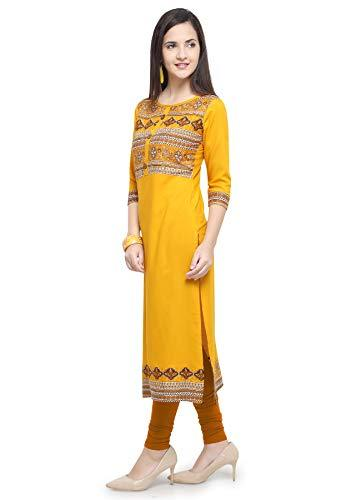 Women's Rayon Straight Kurti - iZiffy.com