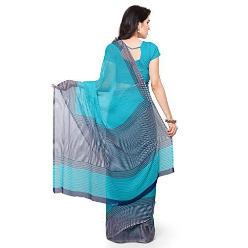 Flaray Chiffon Saree with Blouse Piece - iZiffy.com