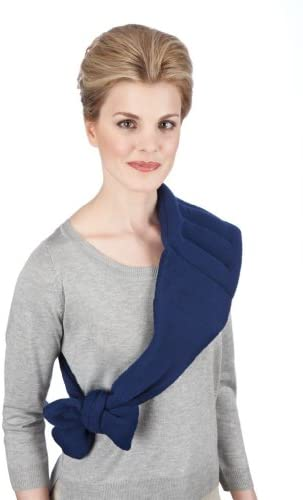 "Sunny Bay Lower Back and Shoulder Joint Heat Wrap with Strap, 10""x18"" Heating Pad, Microwave Hot/Cold Pad, Reusable, Portable, Navy Blue - iZiffy.com"