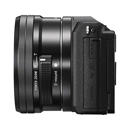 Sony Alpha ILCE5100L 24.3MP Mirrorless Camera (Black) with 16-50mm Lens with Free Case (Bag)