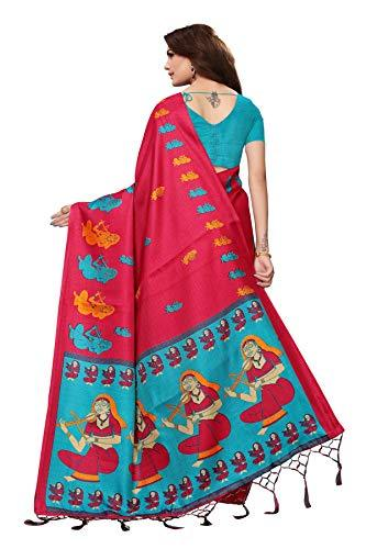 Cotton Silk with Blouse Piece Saree