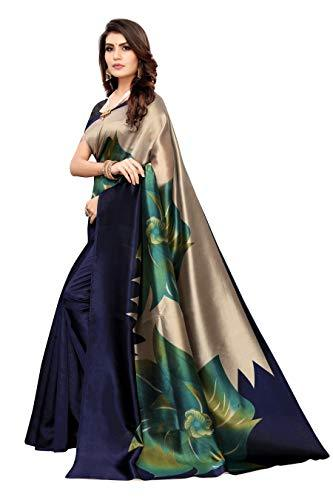 Designer Art Silk Saree with Blouse Piece - iZiffy.com
