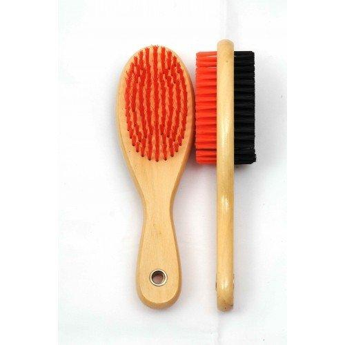 Dog Brush Double Side (Pack of 1) - Large (Colors May Vary) - iZiffy.com