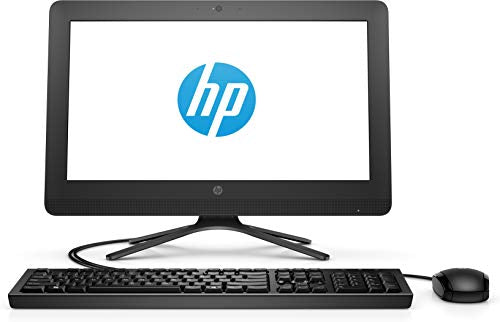 HP 20-c417in AIO 2018 19.5-inch All-in-One Desktop (Celeron J4005/4GB/1TB/Windows 10/Integrated Graphics), P/N - 3JV40AA