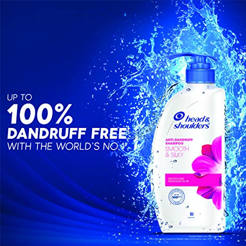 Head & Shoulders Smooth and Silky Anti Dandruff Shampoo, 650ml - iZiffy.com