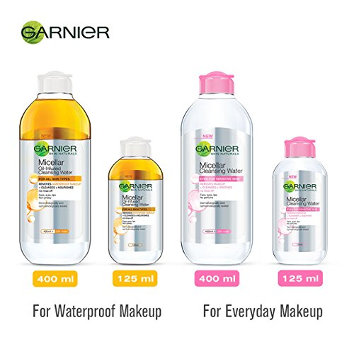 Garnier Skin Naturals, Micellar Oil-Infused Cleansing Water, 125ml - iZiffy.com