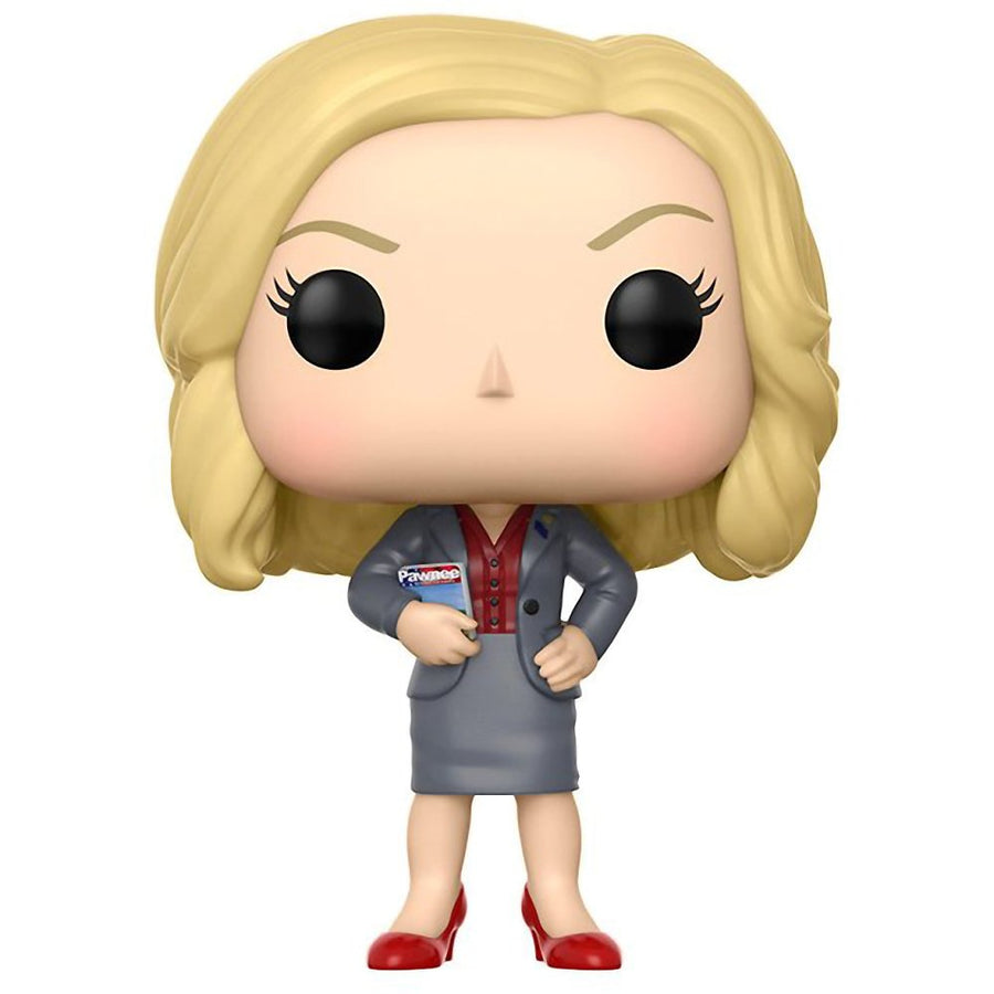 Leslie Knope: Funko POP! TV x Parks And Recreation Vinyl Figure - iZiffy.com