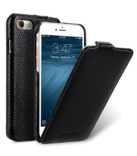 "Melkco Leather Case for Apple iPhone 8 / iPhone 7 (4.7"") - Jacka Type - Black - iZiffy.com"