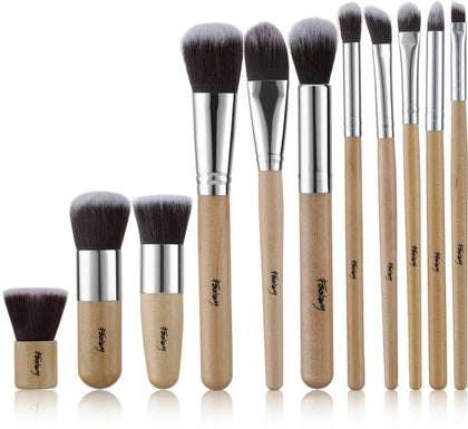 Foolzy Makeup Brush Set Professional Kabuki Brushes Kit  (Pack of 11) - iZiffy.com