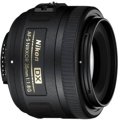 Nikon AF-S DX NIKKOR 35 mm f/1.8G   Lens  (Black) - iZiffy.com