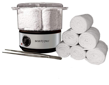 Beauty Pro Hot Towel Steamer Kit - iZiffy.com