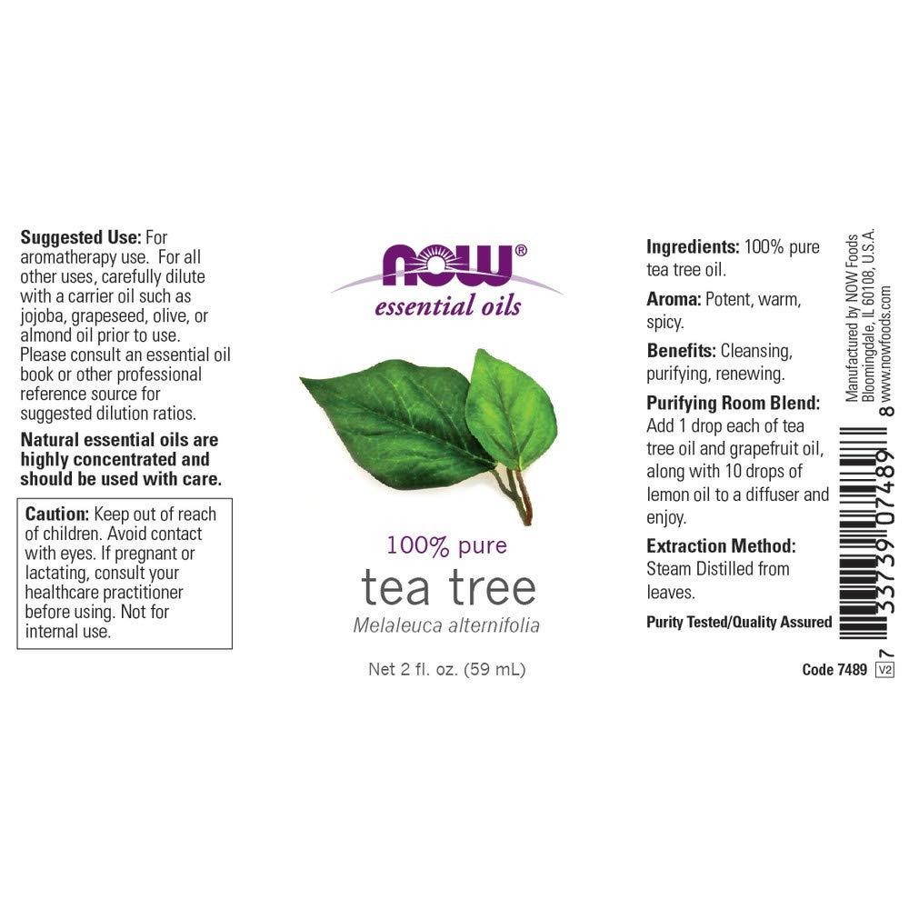 2 oz : NOW Tea Tree Oil, 2-Ounce