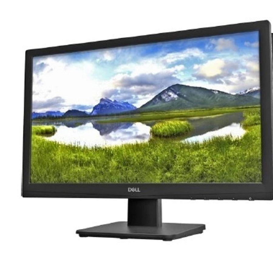 Dell 19.5 inch (49.5 cm) LED Backlit Computer Monitor - HD, TN Panel with VGA & HDMI Port - D2020H (Black) - iZiffy.com