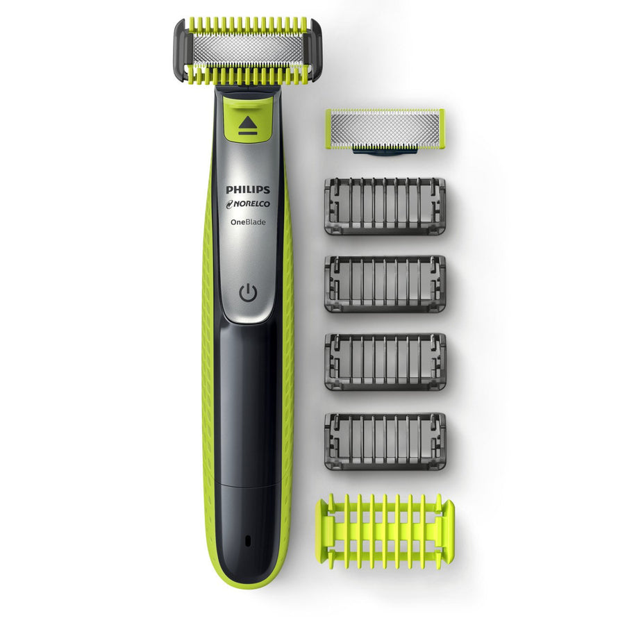 Philips Norelco OneBlade Face + Body, Hybrid Electric Trimmer and Shaver, QP2630/70