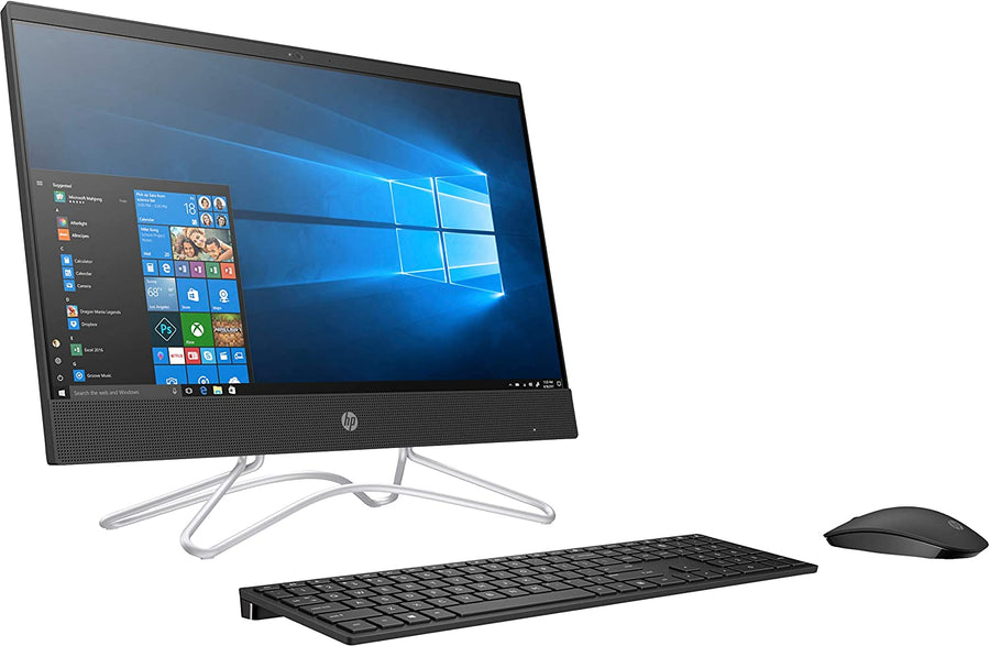 HP Core i3 8th Gen 21.5-inch FHD AIO PC (4GB/1TB HDD/Windows 10/MS Office/Jet Black/5.39kg), 22-c0028in