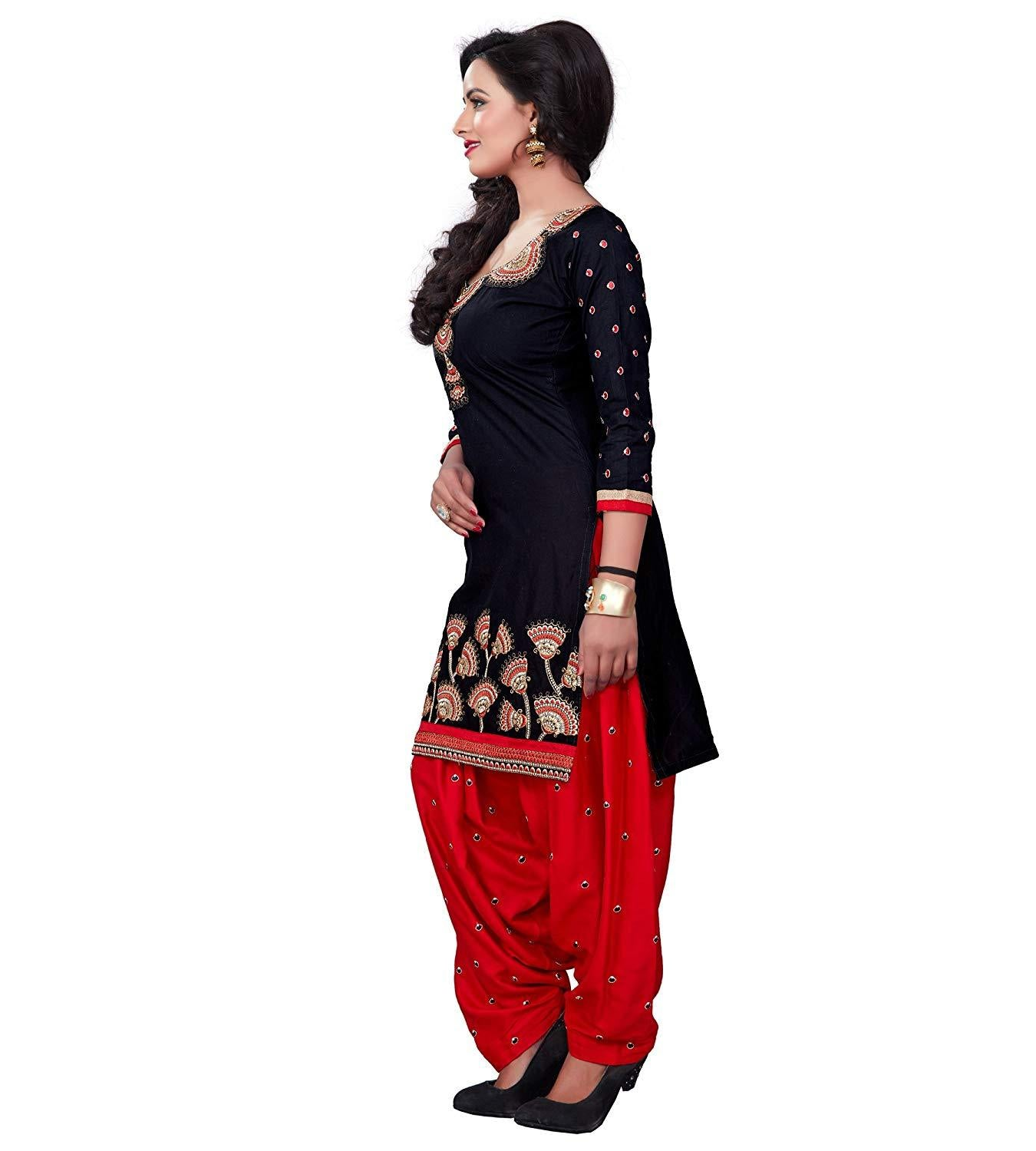 Women's Cotton Patiala Salwar Suit