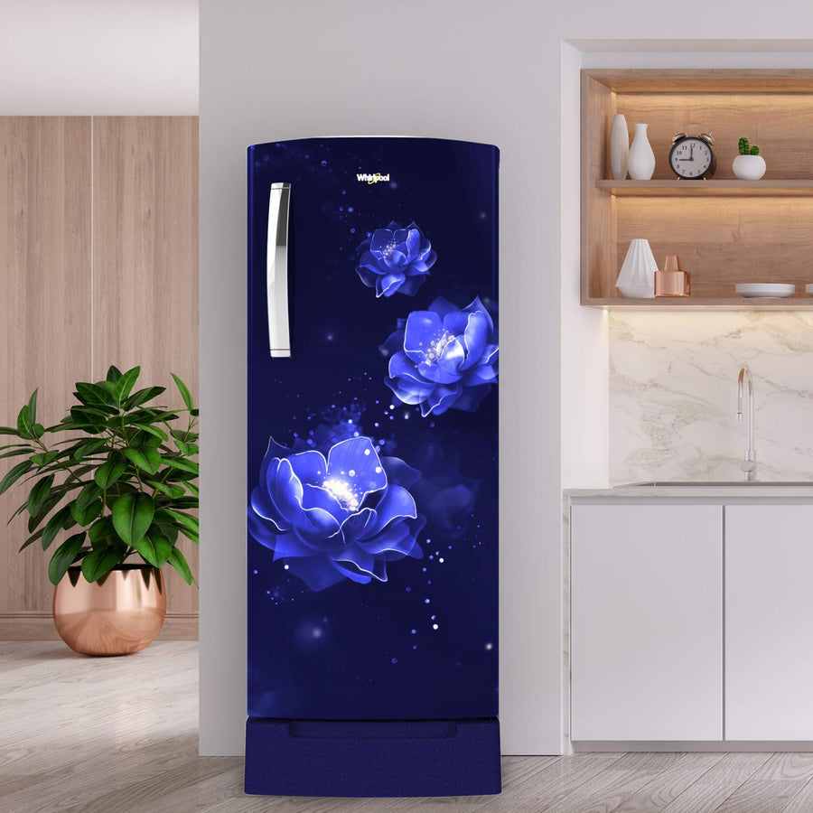 Whirlpool 215 L 5 Star Inverter Direct-Cool Single Door Refrigerator (230 IMPRO ROY 5S INV SAPPHIRE ABYSS, Sapphire Abyss)