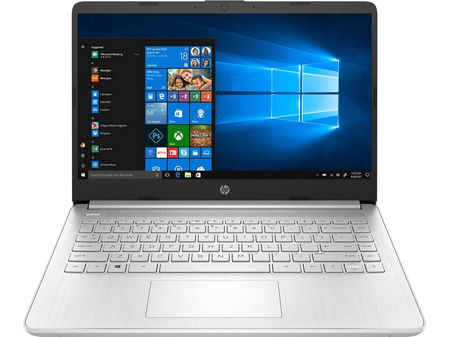 HP 14s dr1009tu 14-inch Laptop (10th Gen Core i5-1035G1/8GB/512GB SSD/Windows 10 Home/Intel UHD Graphics), Natural Silver